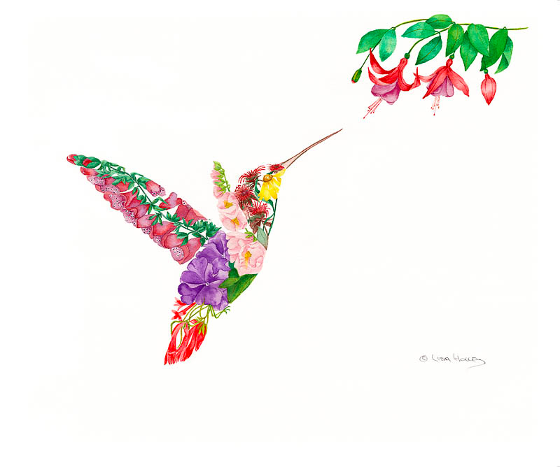 Hummingbirds Delight II